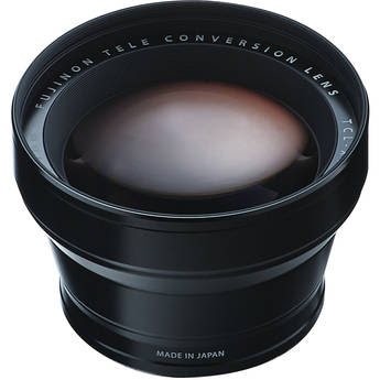 Fujifilm TCL-X100 Telephoto Conversion Lens (Black)