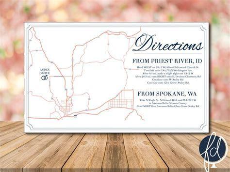 Best 25  Wedding direction maps ideas on Pinterest