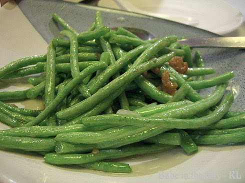 Stir-Fried Baby French Beans