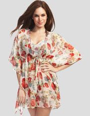 Figleaves Swimwear Meadow Printed Caftan