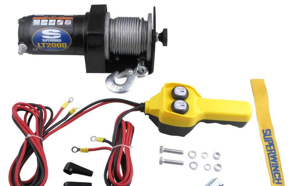 Autosportswiring  2000 Lb Badland Electric Winch Wiring