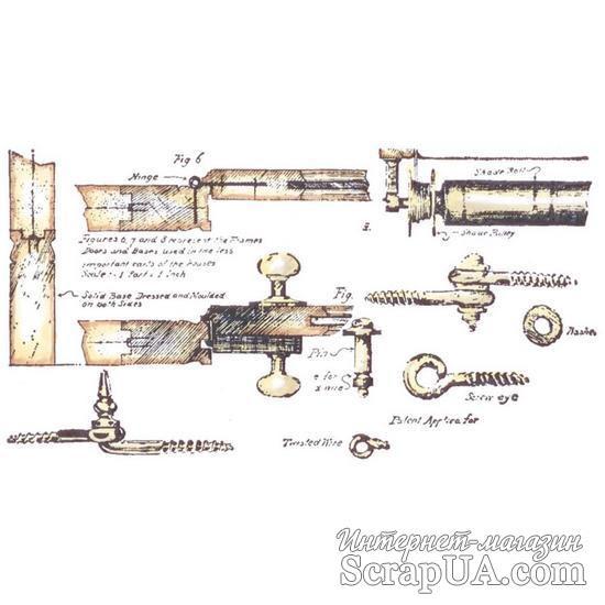 Акриловый штамп La Blanche - Hardware - ScrapUA.com