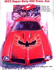 1973 Super Duty 455 Trans Am. snap.