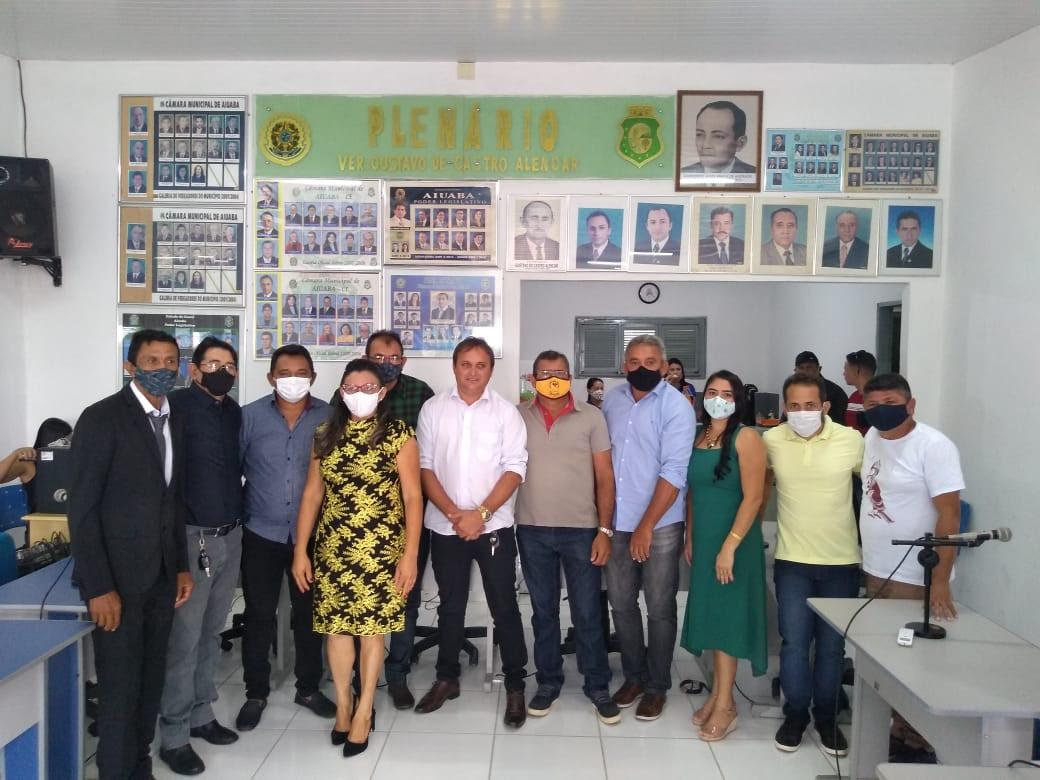 Aiuaba: Vereadores tomam posse e elegem nova Mesa Diretora da Câmara Municipal