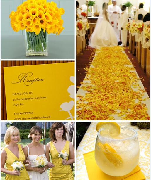 Spring wedding ideas - Daffodil wedding | Budget Brides Guide : A ...