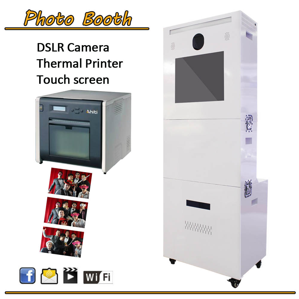 Portable Photo Booth Vending Machinesphoto Printing Machine In