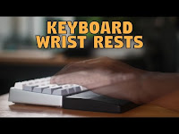 Mechanical Keyboard Wrist Rests Glorious PC Gaming Race Unboxing & Review