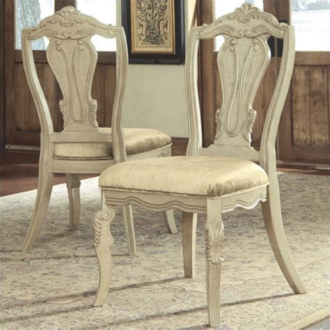 ashley furniture ortanique dining upholstered side
