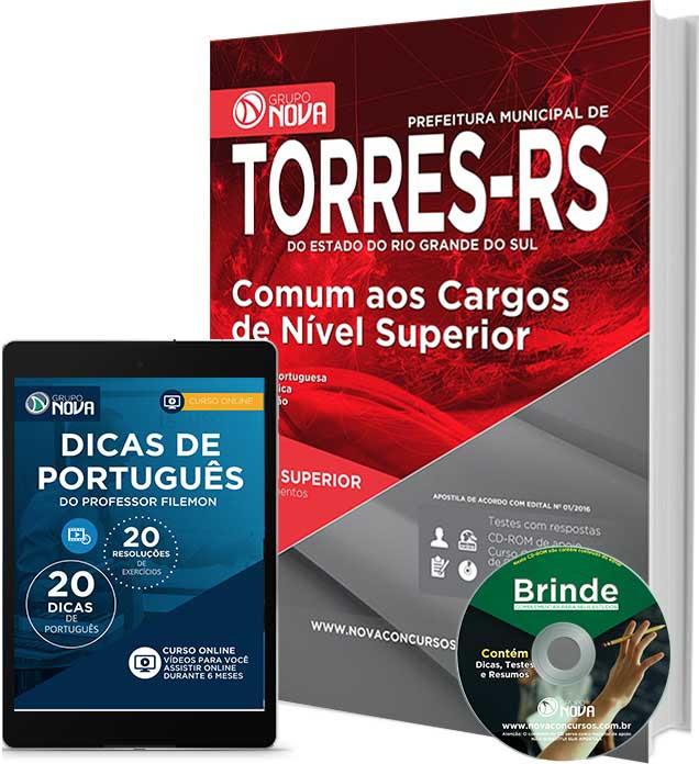 Apostila Concurso Prefeitura de Torres (RS) 2016 Nível Superior