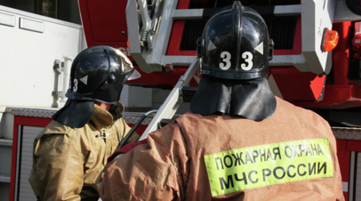 В Саратовской области при пожаре в частном доме погибли три человека