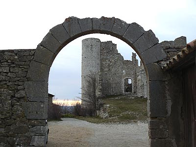ruines Bargème 2