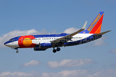 Southwest Airlines Boeing 737-7H4 WL N230WN (msn 34592) (Colorado One) BWI (Brian McDonough). Image: 911472.