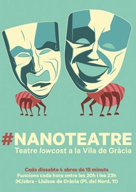 Cartell del #Nanoteatre 2016