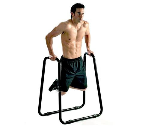 ultimate body press dip stand chest exercise strength