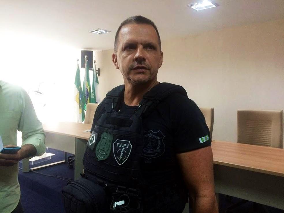 Luis Mauro Albuquerque Araújo é o titular da Secretaria de Justiça e da Cidadania do RN (Foto: Andréa Tavares/G1)