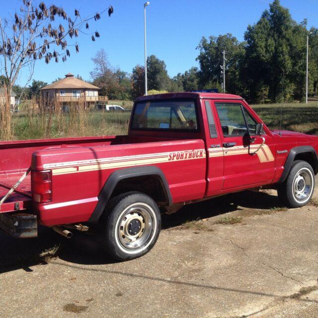 1988 Jeep Comanche S