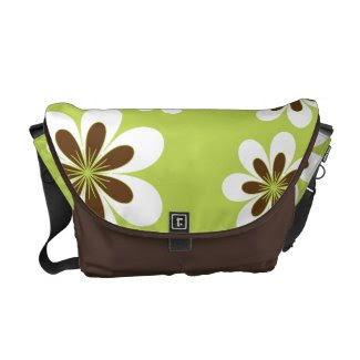 Sweetest Flowers rickshawmessengerbag