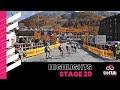 Vídeo resumen de la 20ª etapa del Giro de Italia 2020