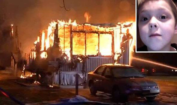 Tyler Doohan rescued six of his family members from a house fire before he died