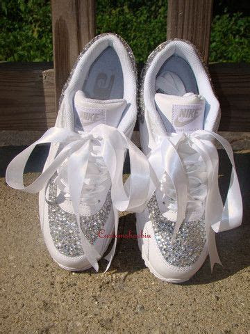 Sparkly Tennis Shoes For Wedding