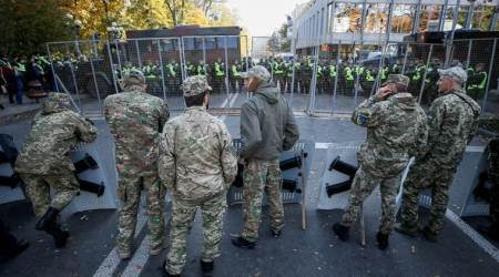Five killed in Ukraine as car ploughs intocrowd
