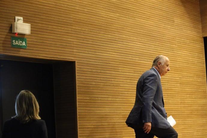 Del Nero - coletiva CBF (Foto: FÁBIO MOTTA - Agência Estado)