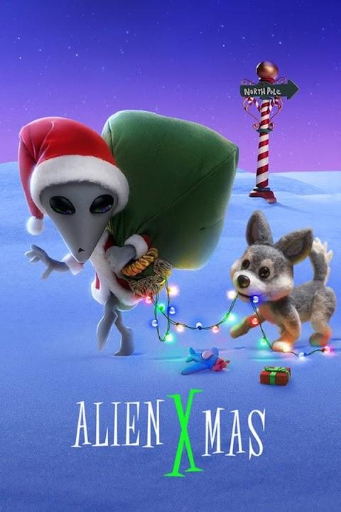 Alien Xmas (2020) 480p 720p 1080p WebRip Dual Audio (Hindi+English)   Netfix Film