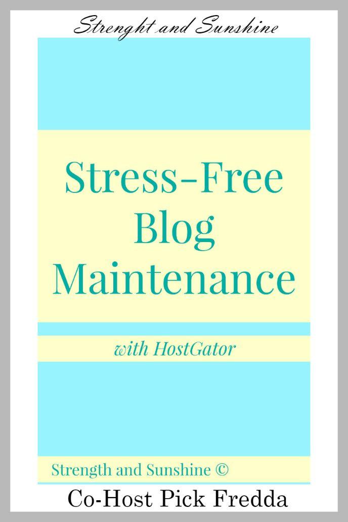Stress-Free-Blog-Maintenance