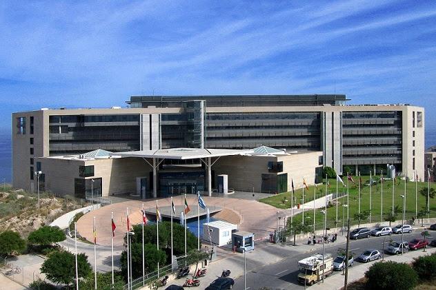 Resultat d'imatges de El edificio de ampliación de la Oficina de Armonización del Mercado Interior de la UE (OAMI) de Alicante
