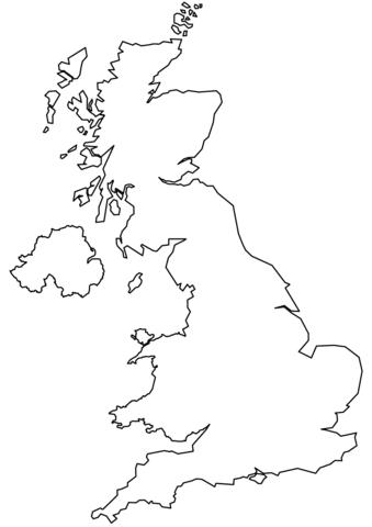 Cartina Geografica Del Regno Unito Da Colorare.Cartina Europa Da Colorare E Stampare Immagini Colorare
