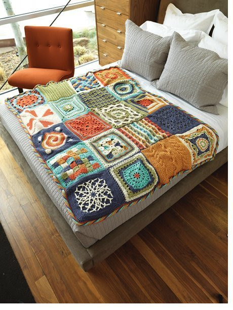 craftjunkie:  Crochet Blanket {How to} Found at: http://www.crochetme.com
