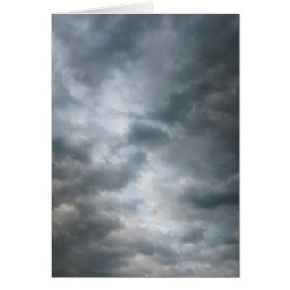Storm Clouds Breaking Greeting Card