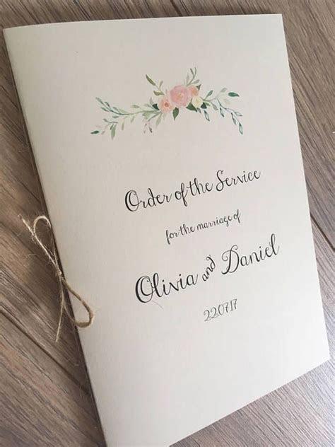 Best 25  Wedding booklet ideas on Pinterest   Wedding
