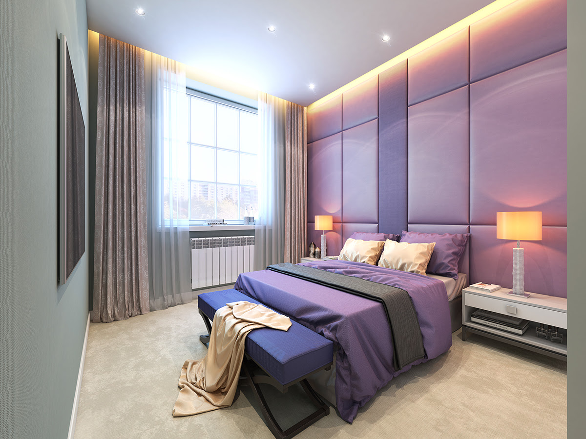 lavender-bedroom  Interior Design Ideas.