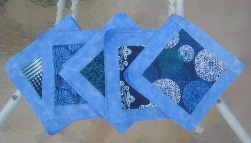 Bordered Blocks ~ Julie's Quilt