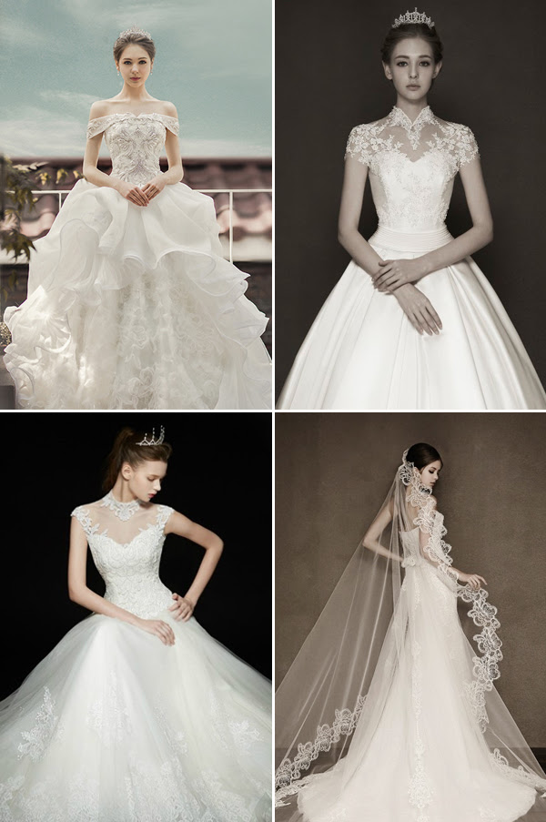 Korean Wedding Dress Pic The Royal Weddings