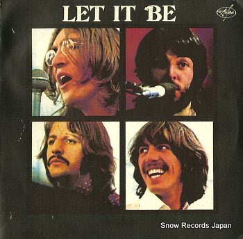 BEATLES, THE let it be