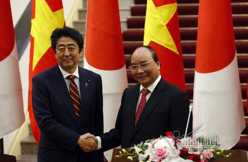 Nhật cấp thêm khoản vay ODA 1 tỉ USD cho Việt Nam