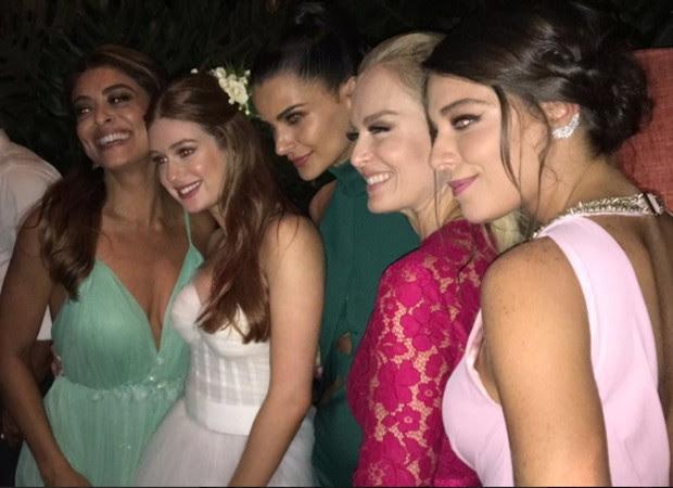 Juliana Paes, Marina Ruy Barbosa, Fernanda Motta, Angélica e Luma Costa (Foto: Reprodução/Instagram)