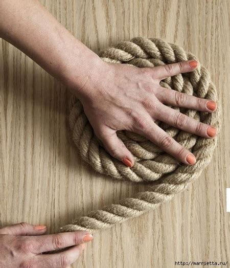 DIY Simple Rope Rug   Cool Creativities