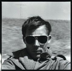 Hunter S. Thompson, self-portrait, c. 1960 (via Flavorwire) Ah, gonzo journalism