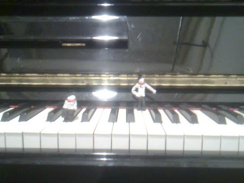 Piano for two