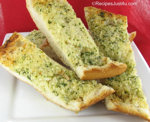 Homemade Garlic Bread - Makes any Meal or Party Better ...