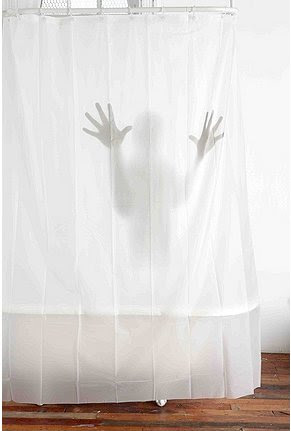 Scary Shower Curtain Puts A Creepy, Shadowy Figure In Your Bathroom