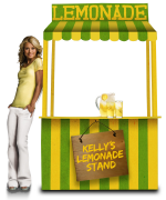 Kelly Ripa's Virtual Lemonade Stand
