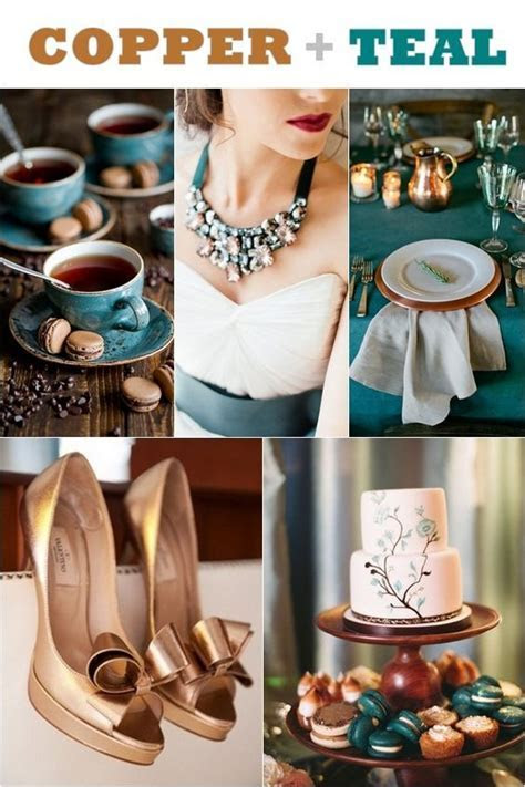 Best 20  Teal gold wedding ideas on Pinterest
