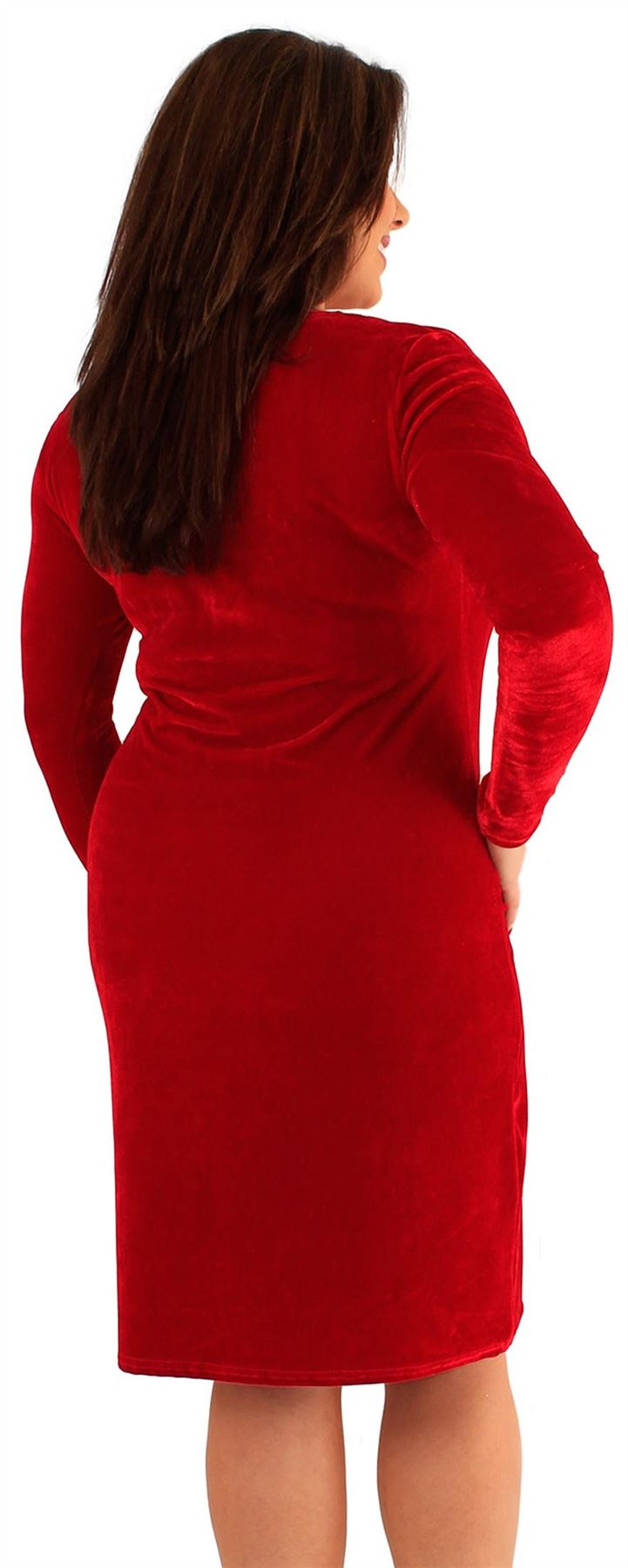 Vintage plus bodycon long sleeve dresses size womens