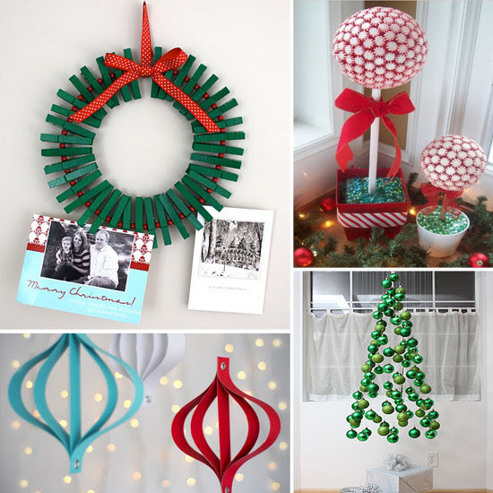Cheap xmas decoration ideas euffslemani do it yourself christmas decorating ideas 33 awesome diy string solutioingenieria Choice Image