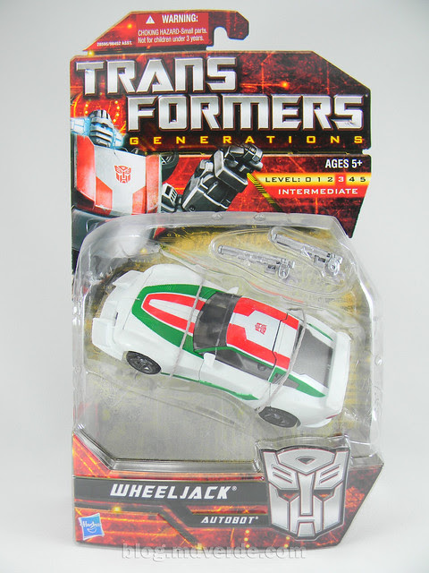 Transformers Wheeljack Generations Deluxe - caja