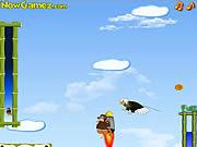 Jogar Airborne kangaroo Jogos